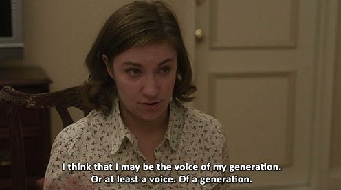 ten signs you're just like Hannah Horvath