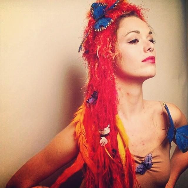 Hannah Natali Live Embodiment Art Show